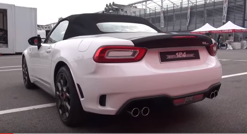 2016 abarth 124 spider awesome exhaust sound video dpccars for Nord gear motor 3d model