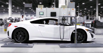 2017 Acura NSX Production Factory Plant (1)