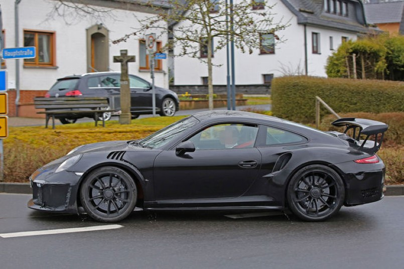2017 porsche 991 gt3 rs 4 2 spied dpccars. Black Bedroom Furniture Sets. Home Design Ideas
