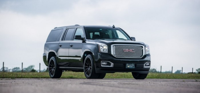650HP Superchargers GMC Yukon Denali by Hennessey