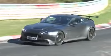 Horrible Sounding Aston Martin Vantage GT8 Spied (1)