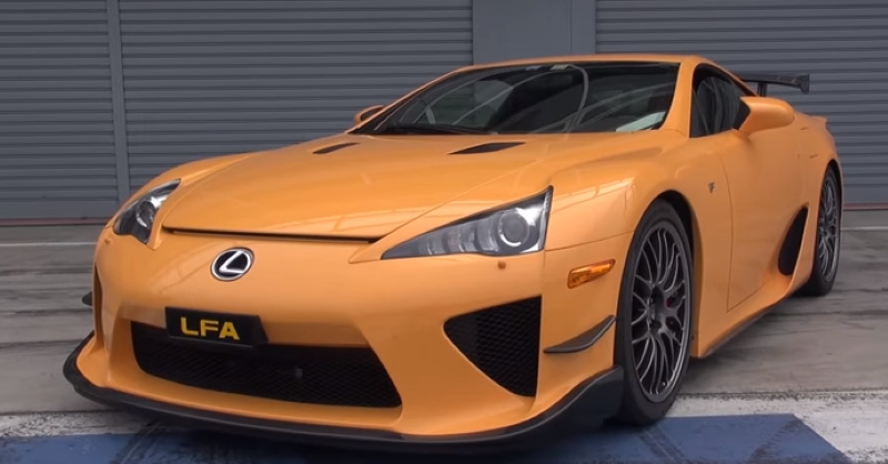 Lexus Lfa N 252 Rburgring Edition At The Track Video Dpccars