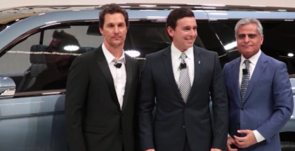 Lincoln Navigator Concept Unveiling with Matthew McConaughey (1)