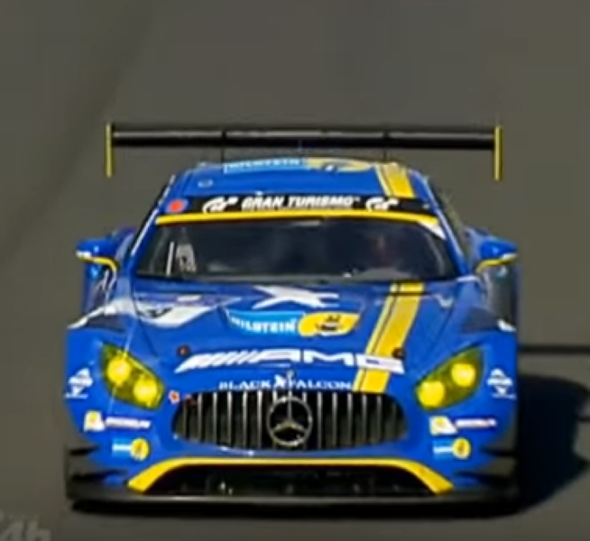 Gt Racing 2 The Real Car: Mercedes AMG GT Race Car Crashes Hard At The Nürburgring