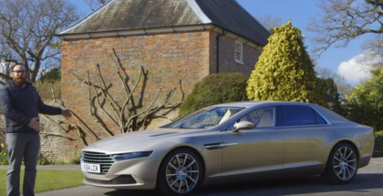 Motor Trend - Million Dollar Four-Door 2016 Lagonda Taraf Review (1)