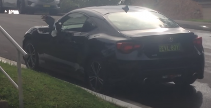 Mystery scratches on Toyota 86 forces owner to setup a hidden camera (1)