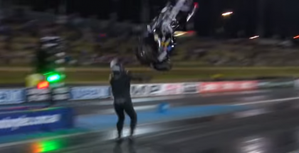 This Dragbike Flip Is Violent (1)