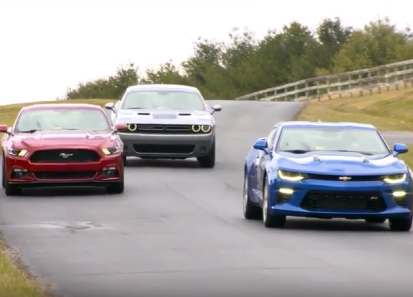 American Muscle Cars Crash Test Video Dpccars