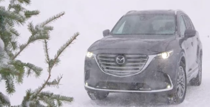 2016 Mazda CX-9 Winter and Ice Driving (1)