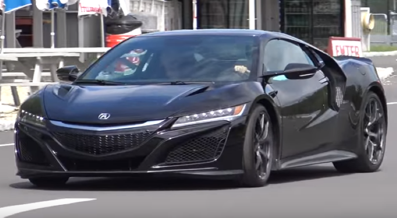 2017 Acura Nsx 0 60 Mph Test Video Dpccars
