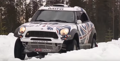 Auto Express - MINI ALL4 Racing Dakar car (1)