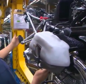 BMW Motorcycles Assembly Factory Plant in Germany – Video