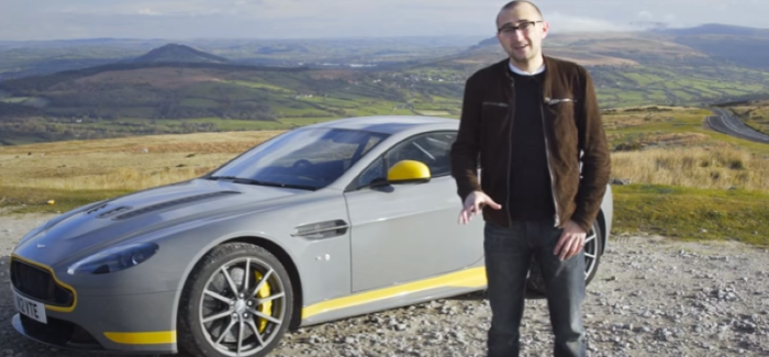 Carfection Aston Martin V12 Vantage S Manual Video
