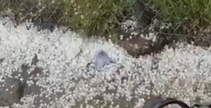 Hail At The Nurburgring 24 Hour Race (1)