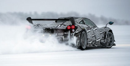 Pagani Huayra BC winter testing on snow and ice (1)