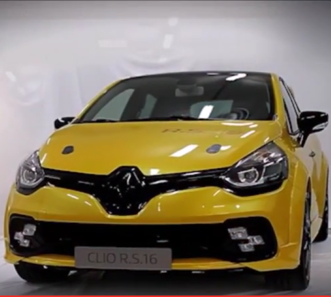 Renault Celebrates 40th Anniversary Of Formula 1 With: Renault Clio R.S. 16 Concept – Video