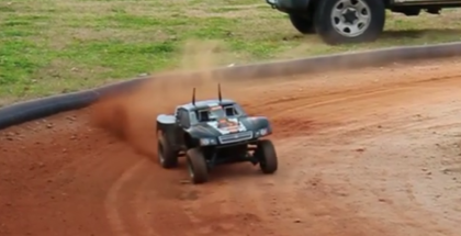 Self driving RC Trucks  Drifting (1)