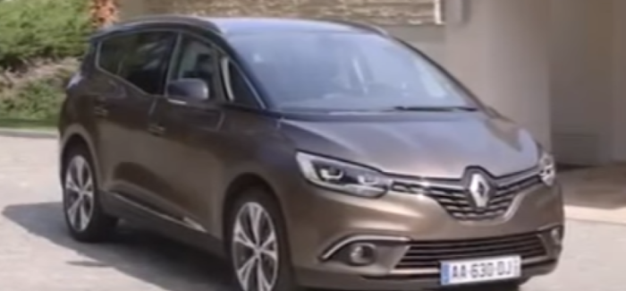 2016 Renault Scenic and Grand Scenic Driving, Interior, and Exterior ...