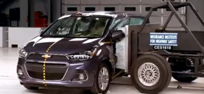2016 chevrolet spark side crash test dpccars. Black Bedroom Furniture Sets. Home Design Ideas