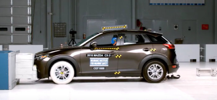 2016 Mazda CX 3 Crash Test U2013 Video