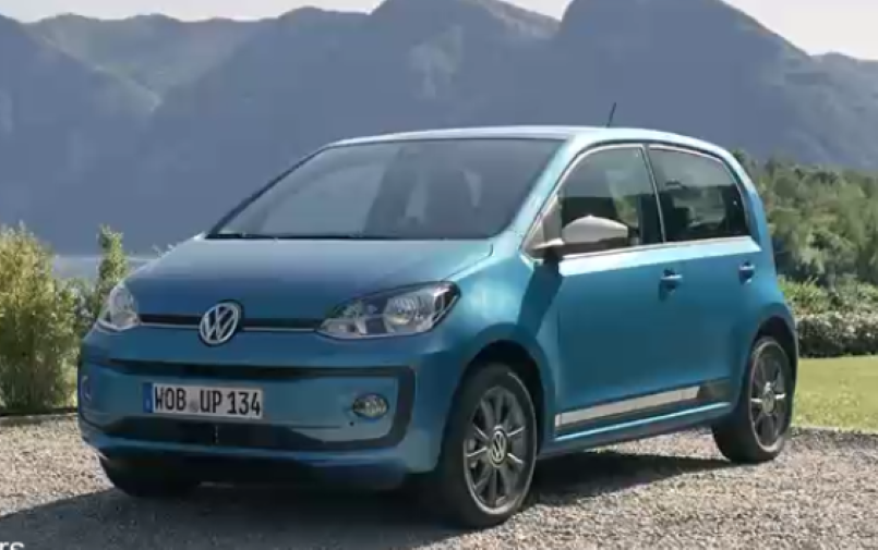 2016 vw up video dpccars. Black Bedroom Furniture Sets. Home Design Ideas