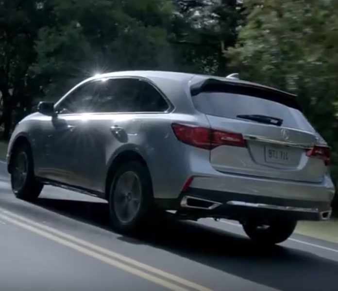 Acura Mdx 2017 Commercial