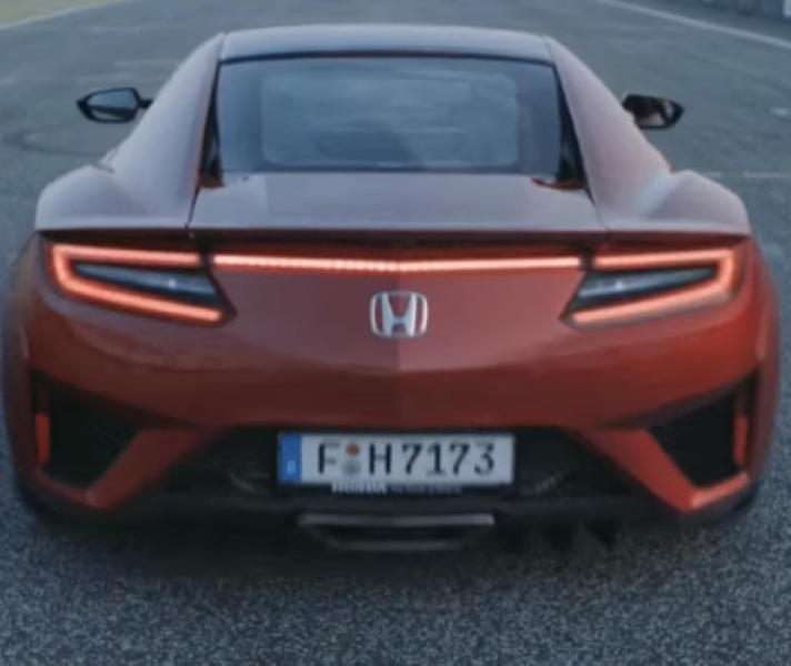 2017 Acura NSX Launch Control – Video