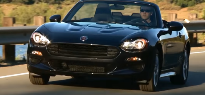2017 Fiat 124 Spider Classica – Video