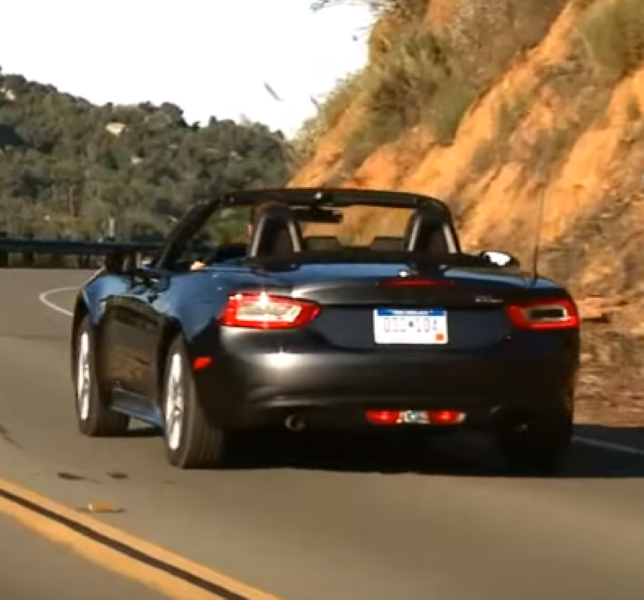 2018 Fiat 124 Spider Suspension: 2017 Fiat 124 Spider Classica – Video
