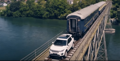 2017 Land Rover Discovery Sport Pulling A Train (2)