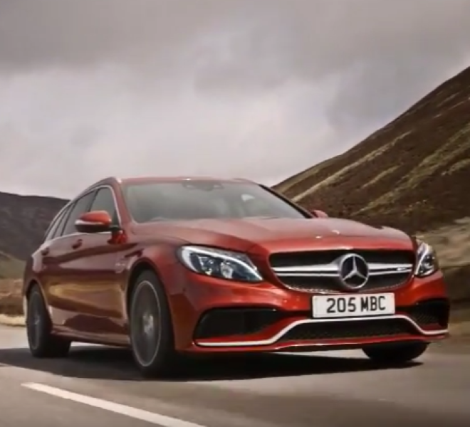 2019 Mercedes Amg E63 S Wagon: 2017 Mercedes C63 S Wagon And Sedan – Video