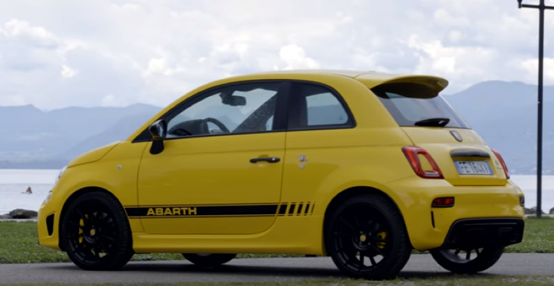 abarth 595 competizione review video dpccars. Black Bedroom Furniture Sets. Home Design Ideas