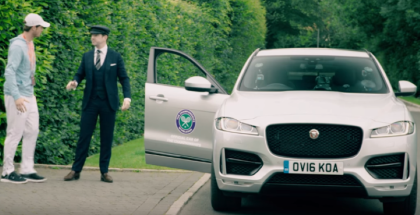 Andy Murray Jaguar F PACE Secret Chauffeur Prank (1)