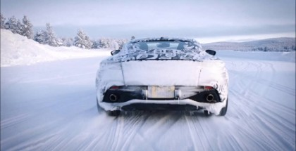 Aston Martin DB11 Cold Weather Testing