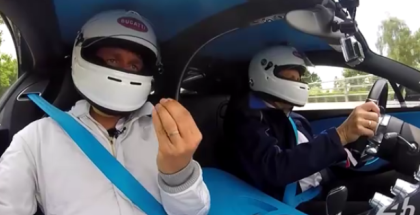 Bugatti Chiron Lap At 24 Hours of Le Mans (1)