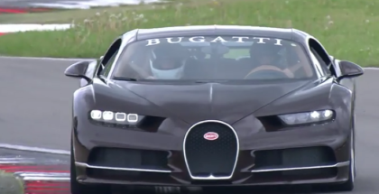 Bugatti Chiron Passenger Lap On The Nürburgring (1)