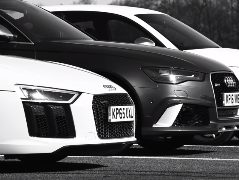 Drag Race R8 Rs6 Rs3 S1 Rs2 And Ducati Video Dpccars