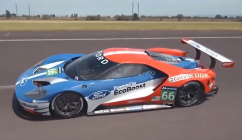 Ford Gt Race Car Performance Racing Simulator Video