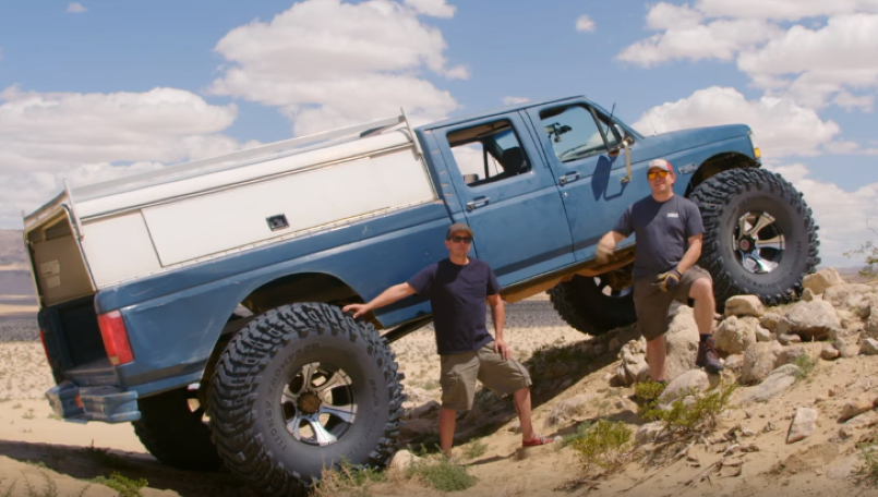 Motor Trend Ford F354 Monster Truck Video Dpccars