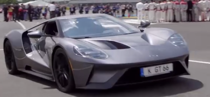 Production  Ford Gt At Le Mans  Hours Video