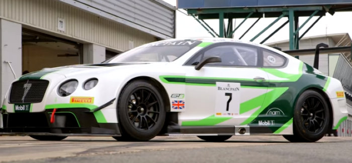 2016 Bentley Continental GT3 Review – Video   DPCcars