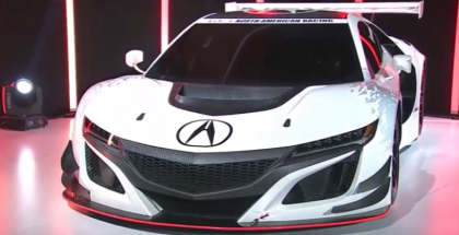 2017 Acura MDX and NSX GT3 Unveiling (1)