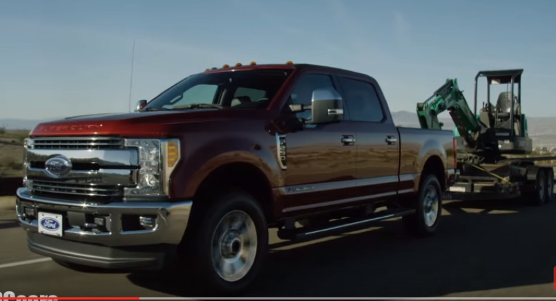 Model 2017 Ford Super Duty Driver Assist Adaptive Steering