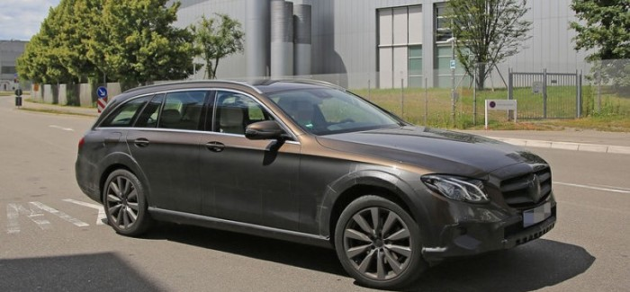 Off Road Wagon >> 2017 Mercedes E Class All Terrain Off Road Wagon Spied Dpccars