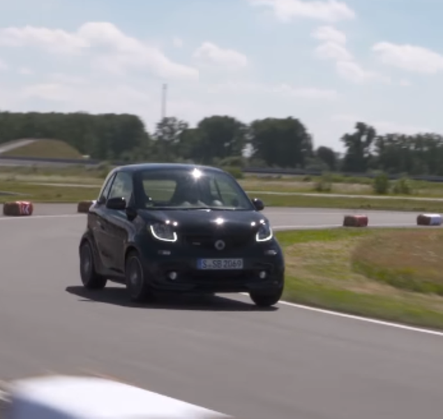 2017 Smart BRABUS Fortwo On A Racetrack – Video