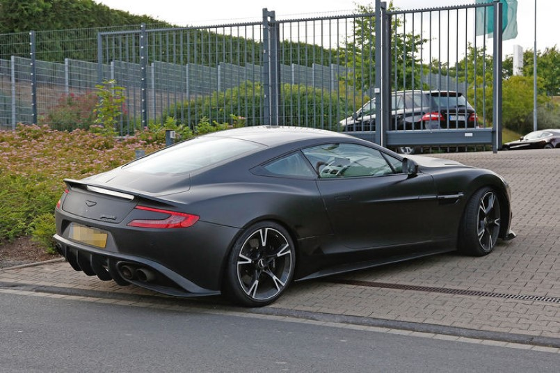 2018 aston martin vanquish s spied video dpccars. Black Bedroom Furniture Sets. Home Design Ideas