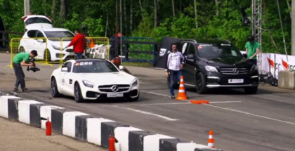 600 HP Mercedes-AMG GT S vs 700 HP CLS63 AMG vs 830 HP ML63 AMG (1)
