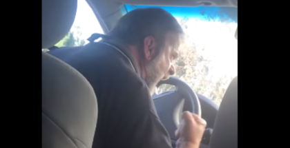 Angry Uber driver blows a fuse on a lady going to the ER (1)