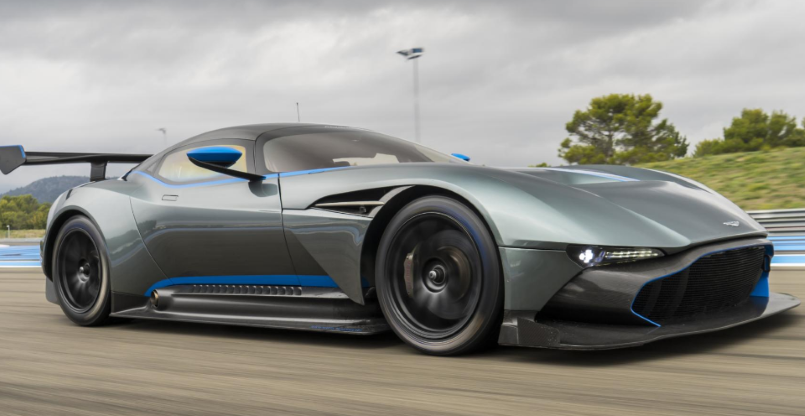 Aston Martin Vulcan On Board At Le Mans Track Video Dpccars
