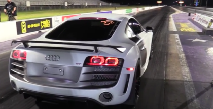 Audi R8 Runs 9's in the Quarter Mile (1)